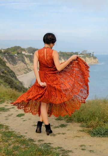 orangeamidstflowersback4